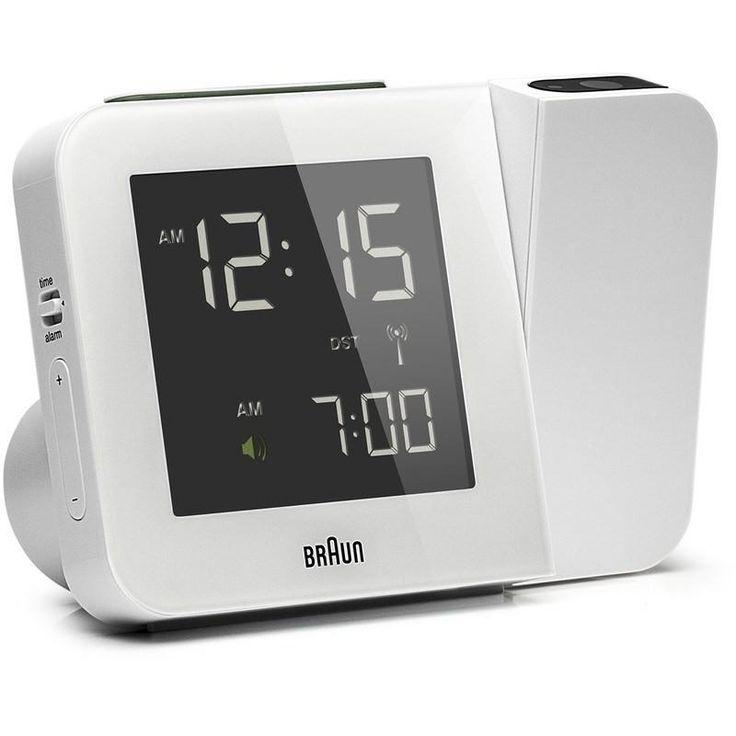 Braun Projection Clock | White