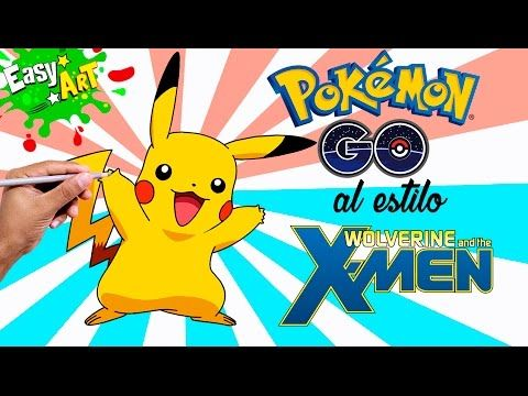Cómo Dibujar a Pikachu al estilo wolverine│How to draw pikachu │Dibujos Pokemon Go  Videos  - YouTube
