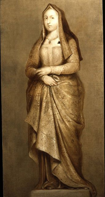 Queen Elizabeth of York, wife of Henry VII, mother of Henry VIII, Margaret, Arthur, and Mary Tudor, a posthumous portrait