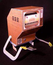 PAPERTOYS « LouLou & Tummie  Printable Robots!