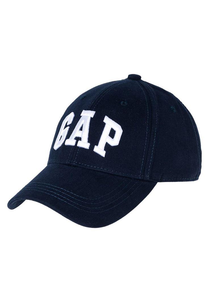 GAP ARCH - Czapka z daszkiem - deep true navy - Zalando.pl