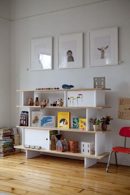 Ouef bookcase - available @UrbanBaby