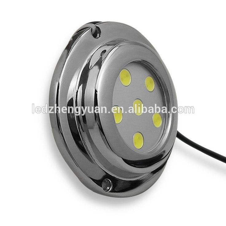 Marine Accessories 316 stainless steel 6w underwater led boat lights/marine underwater led lights underwater LED lamps IP68