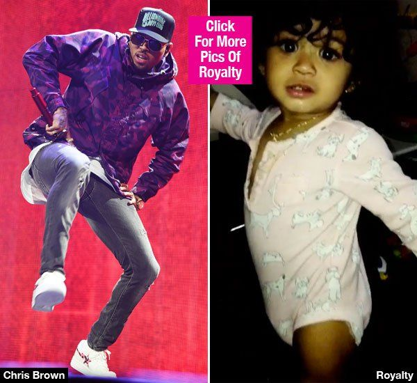chris brown and his babygirl