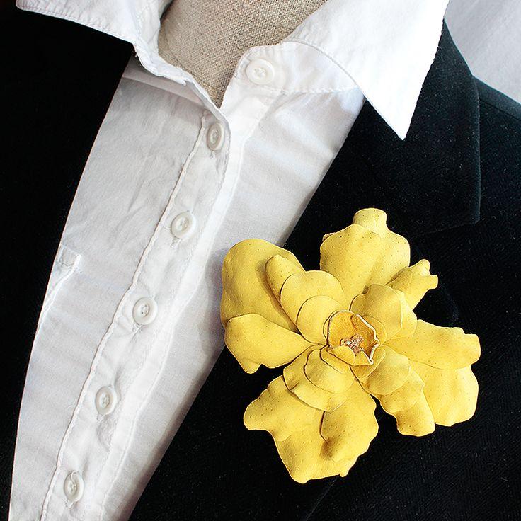 skórzana róża sun Pinalu