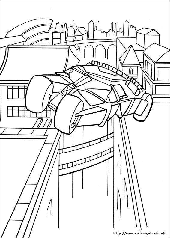 Batman Coloring Page 50 Is A From BookLet Your Children Express Their Imagination When They Color The