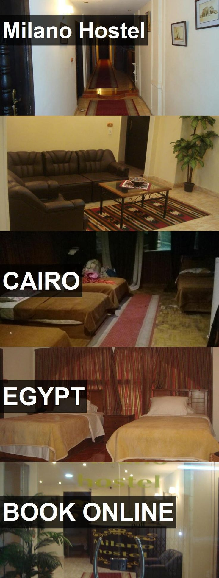Milano Hostel in Cairo, Egypt. For more information, photos, reviews and best prices please follow the link. #Egypt #Cairo #travel #vacation #hostel