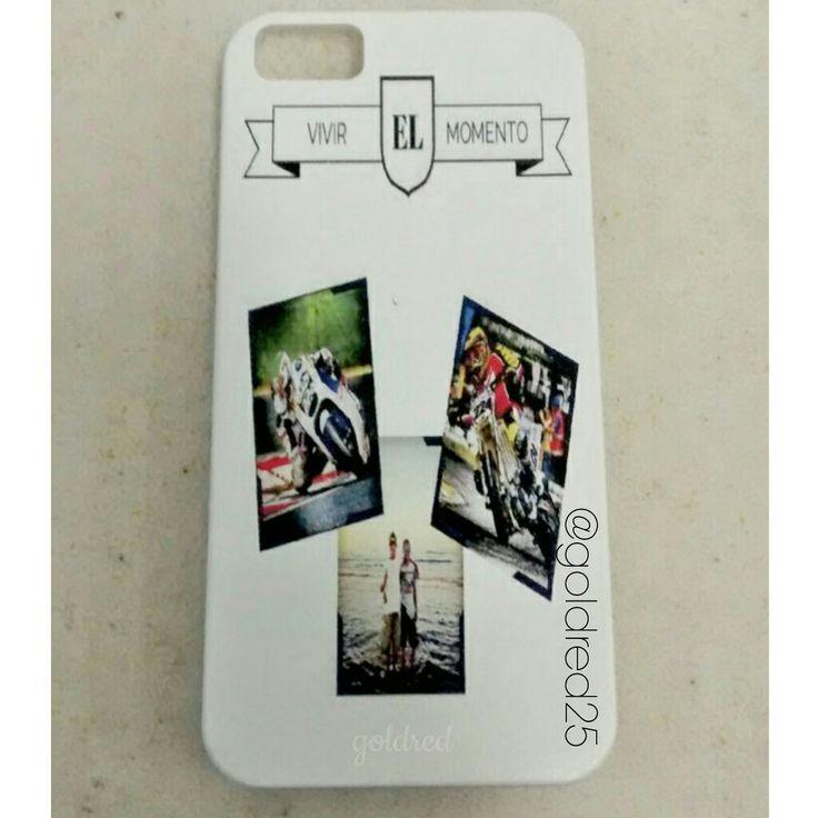 Estuche personalizado - case iphone - goldred25