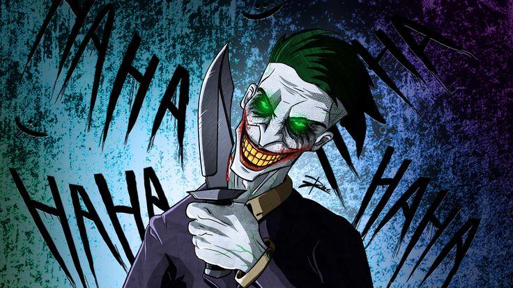 Wallpaper 4k Crazy Joker Art 4k 4kwallpapers, artist