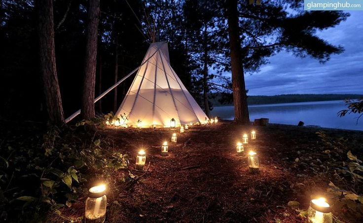 Truly authentic wilderness is something that few get to enjoy, but these luxury tents in Canada allow eight lucky glampers to experience the stunning silence of the Temagami forests of Ontario. Guests will have the adventure of a lifetime on ancient Algonquin lands as they canoe and fish in Obabika Lake and hike through trees that are centuries old. Not often are outdoor experiences like this coupled with luxurious amenities, but this glamping campground has a private chef to cook gourmet…