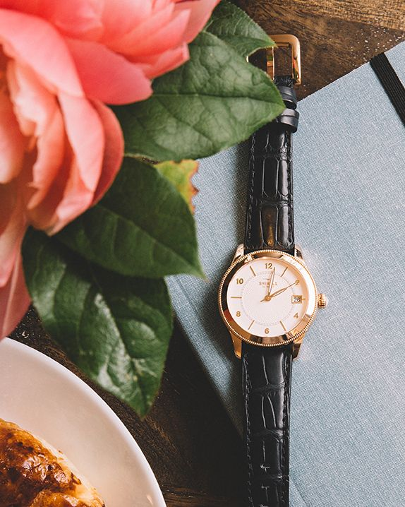 The Gail watch with rose gold details at Maman in Greenpoint, Brooklyn. #Brooklyn #DUMBO #LoveMyCity Photograph by Kate Edwards