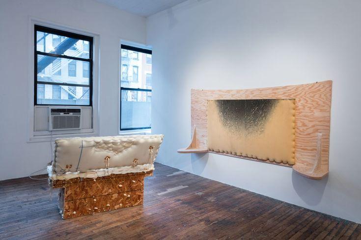Jessi Reaves, installation view at Bridget Donahue, 2016  Copyright Jessi Reaves, courtesy Bridget Donahue, NYC