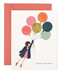 Rifle Paper Co. Fly Away Birthday card