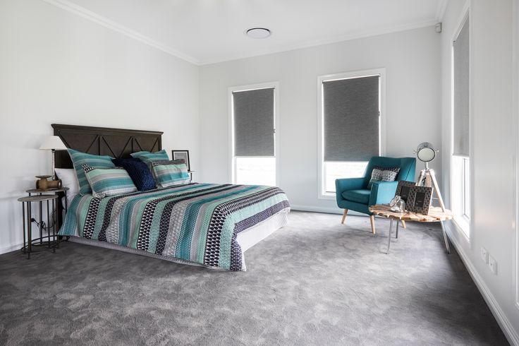 Spacious I Main Bedroom I Grey Carpet