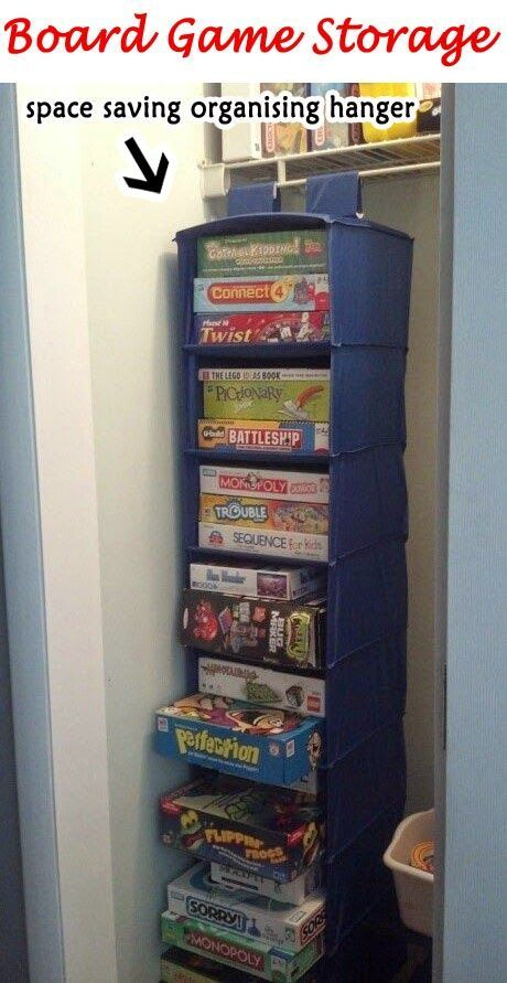 Organisation Hanger:     Save your home space by arranging the board games on a single organisation hanger.      Over the Sink Cutting Boa...