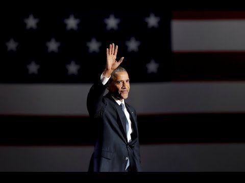 FULL - President Obama Farewell Speech - Chicago (1/10/17) HD Speech fox news golden globes - YouTube