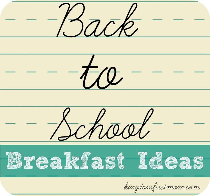 back-to-school-breakfast-ideas