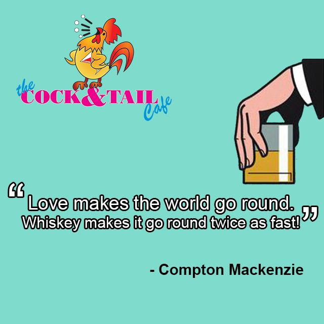 #spirits #ciders #cocktails & #beers, we have all the #fuel you need for a great time! #ComptonMackenzi #Quote #Whiskey #ILoveSA