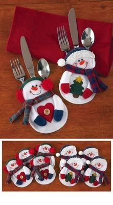Ideas para poner una mesa Navideña