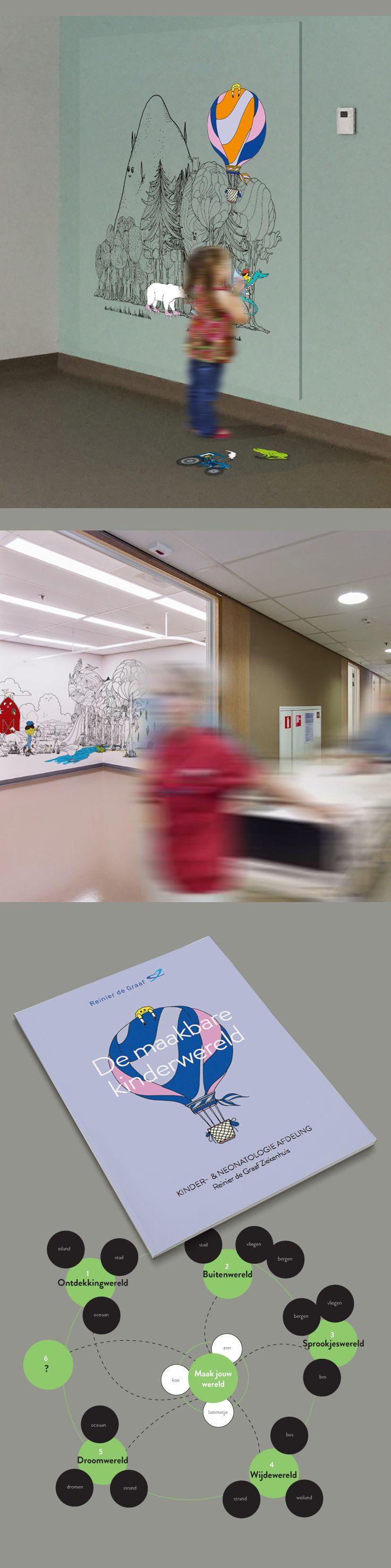 Reinier de Graaf Ziekenhuis - Welzijn van het kind - Portfolio of Twan Minten #Servicedesign #Print