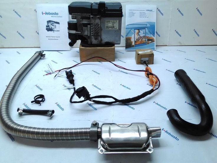 Webasto Thermo Top C 5kw Diesel Water Heater 12v Boat Motorhome 2mths Warranty In