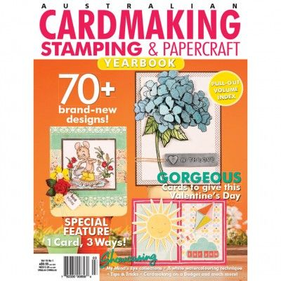 Cardmaking, Stamping & Papercraft - Volume 19. No.1. (just $1.95) Check out: http://www.patchworkandcraft.com.au/digital-magazines/cardmaking-stamping-papercraft-volume-19-no-1.html