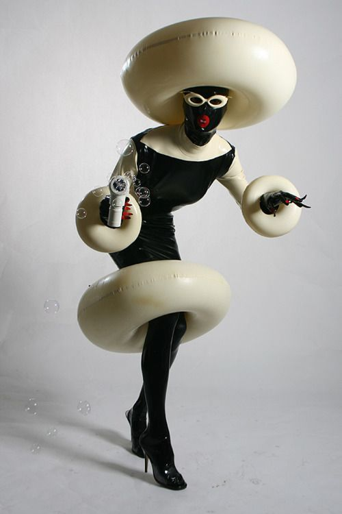 not sure what this is, but it would make an interesting outfit HALLOWEEN COSTUME!!