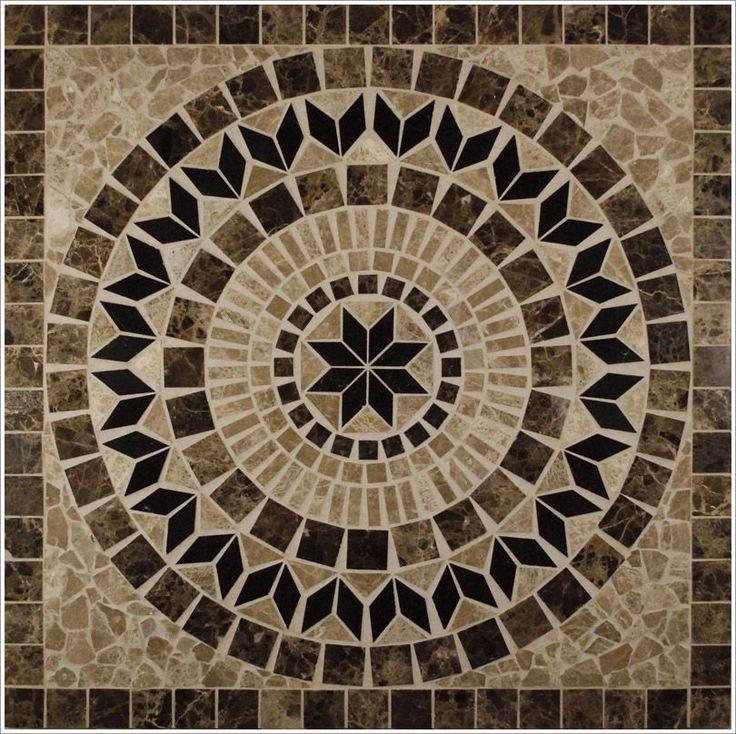 Foyer Medallion Designs : Best floor tile images on pinterest entryway