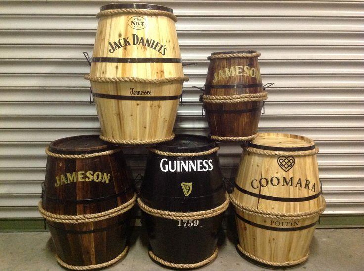 Small barrels by RKD Floral Displays