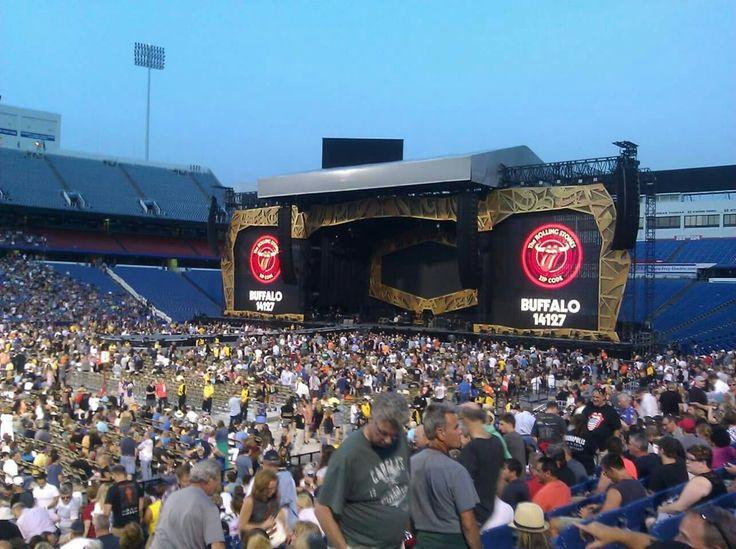 Rolling Stones 7/11/15 @ Ralph Wilson Stadium