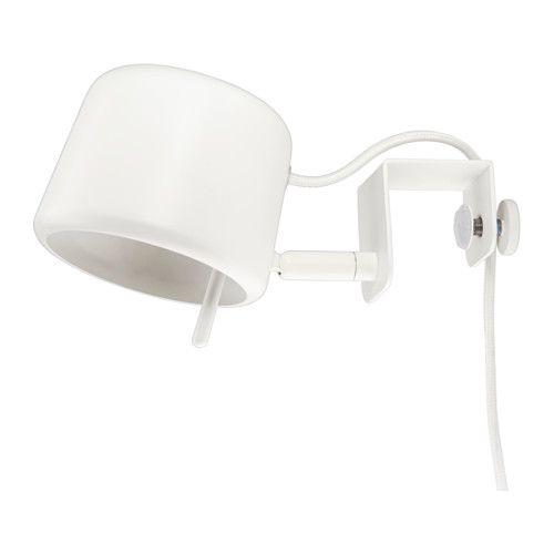 Ikea Varv Clamp Spotlight Easy To Attach To The Headboard For