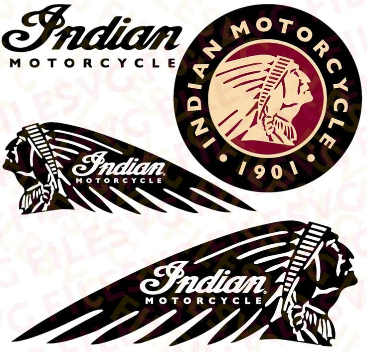 SVG ai cdr psd Files for Cricut Indian Motorcycles Etsy