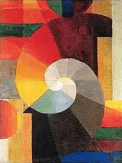 BAUHAUS / johannes itten / meeting / 1919 / oil on canvas