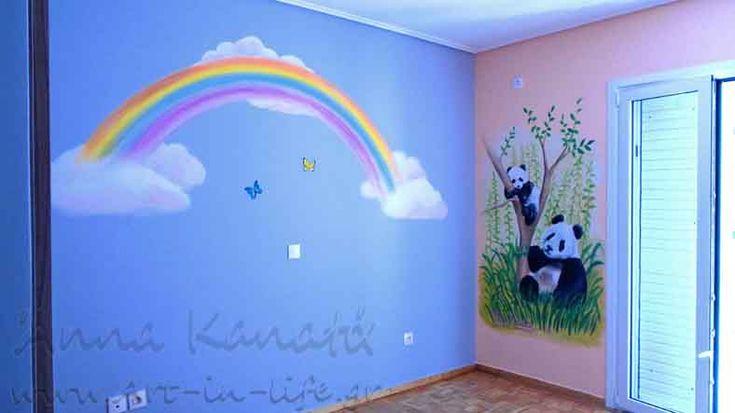 Έργο_33: Το κοριτσίστικο δωμάτιο...με τα πάντα & το ουράνιο τόξο!!