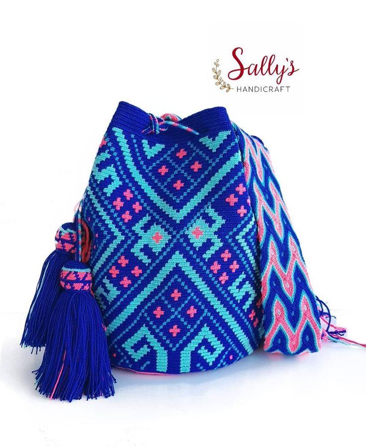 55 отметок «Нравится», 1 комментариев — กระเป๋าวายูแท้100% Wayúu bag (@sallyshandicraft) в Instagram: «ใบนี้ขายแล้วนะคะ เป็นงานไหมเส้นเดียวมีCertificateการันตีงานทอมือวายูแท้จากวายูระดับประเทศนะคะ…»