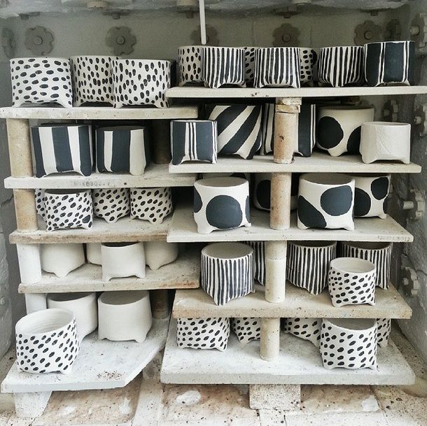Bridget Bodenham · Art And CraftCeramic PotsCeramic DesignSimple  DesignsWhite ...