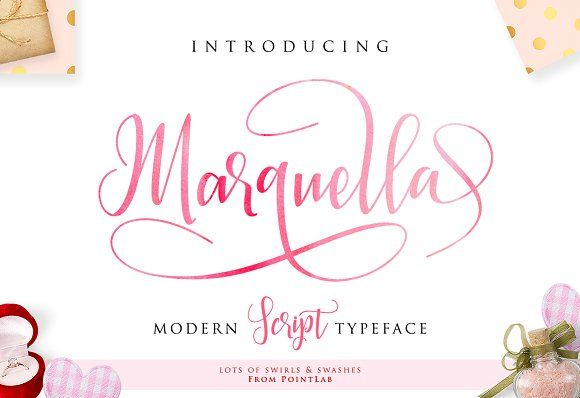 Marquella Script_Get up to 50% by pointlab on @creativemarket