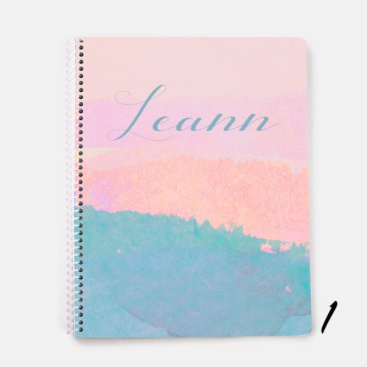 Personalized Notebook, Personalized Diary, Personalized Journal, Custom Diary, Custom Journal, Spiral Notebook, School Notebook, Lined Book by JolieJomelieDesigns on Etsy https://www.etsy.com/listing/535012655/personalized-notebook-personalized-diary