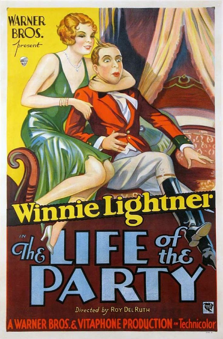 Movie Posters Lobby Cards Vintage Movie Memorabilia: Life Of The Party (1930) ~ Bizarre Los Angeles