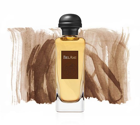 Bel Ami - a mix of cardamom, amber, patchouli and leather
