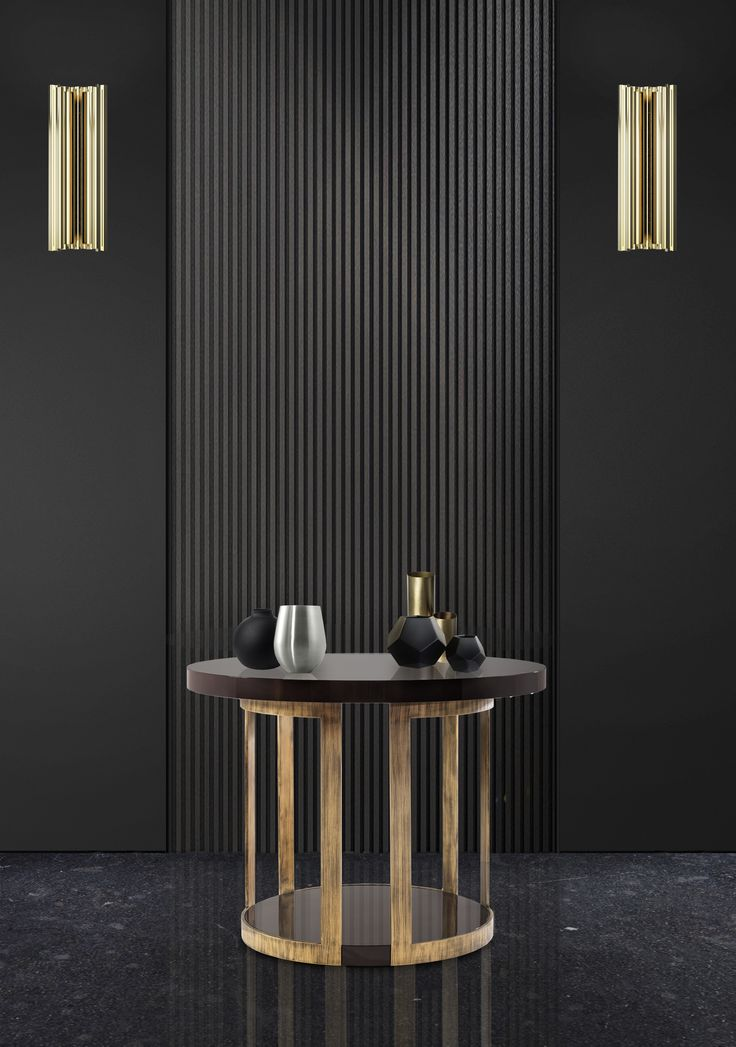 Black and gold are two perfect choices for your living room! They bring so much mystery and elegance at the same time.