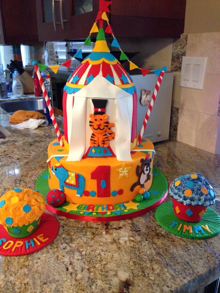 75 best Wills first birthday images on Pinterest Circus carnival