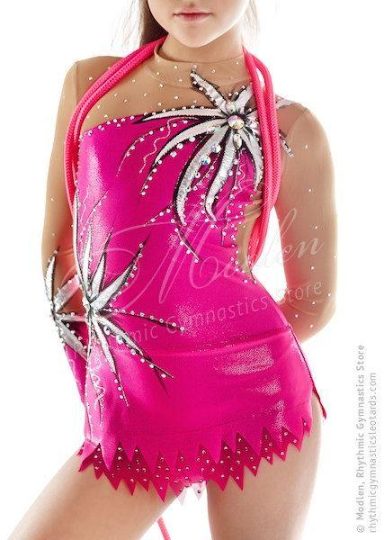 Leotard 142: Rhythmic Gymnastics Leotard Ice Figure от Modlen