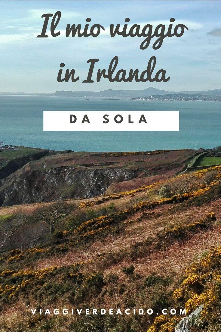 Il mio viaggio in Irlanda da sola. Trovi l'itinerario, informazioni e consigli su http://viaggiverdeacido.com/2017/04/viaggio-irlanda-da-sola.html