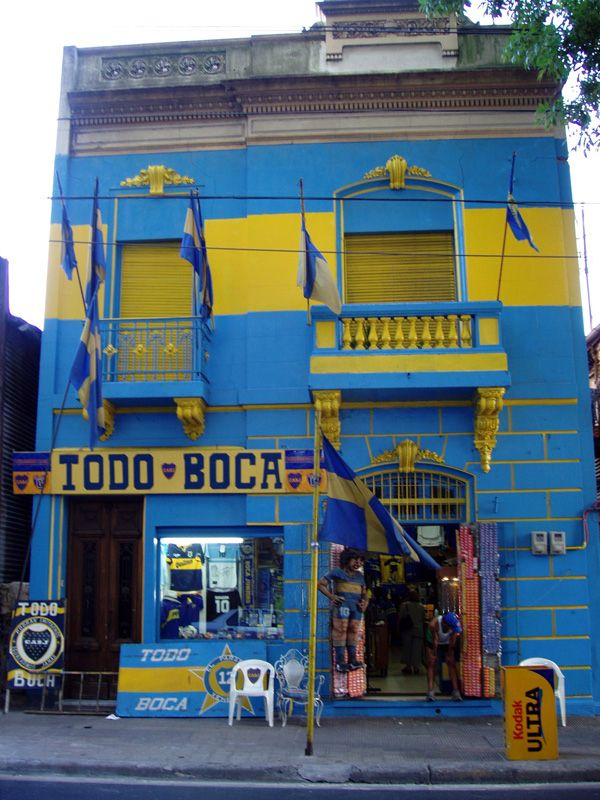 Caminito en Barrio Boca. Home of the BEST Soccer Team EVER!!! Boca Jrs.