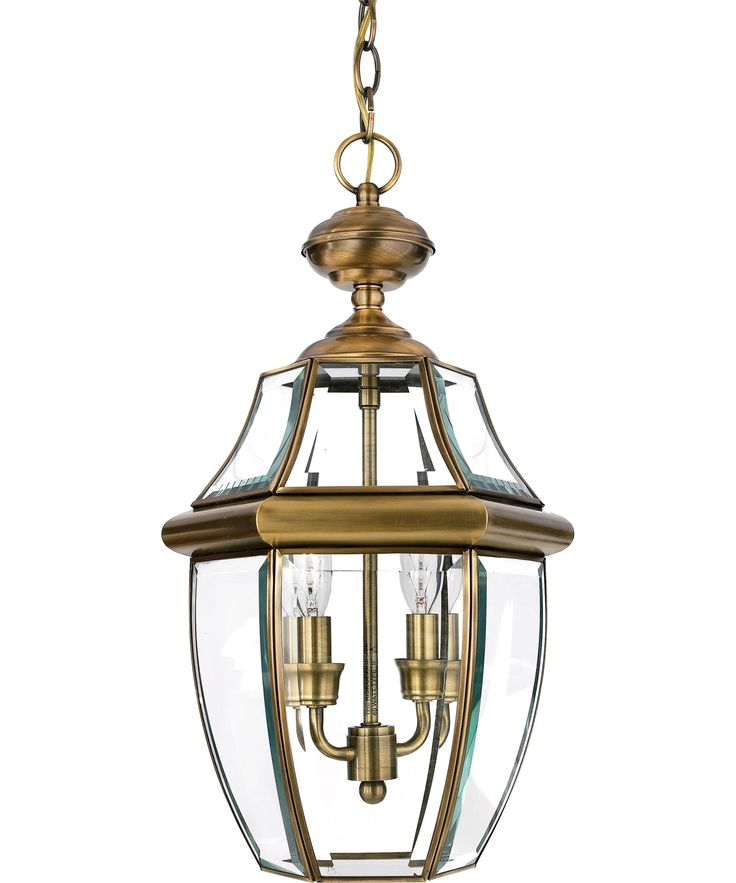 Quoizel NY1178 Newbury 2 Light Outdoor Hanging Lantern