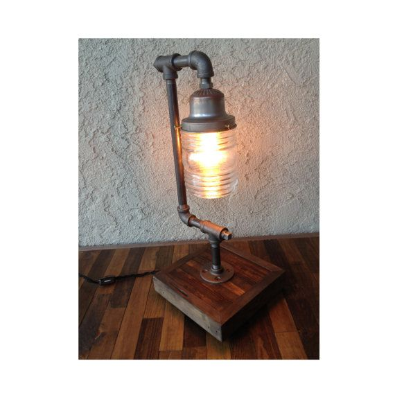 Marine Light Desk Lamp BULB INCLUDED by UnionFurnishings on Etsy, $95.00