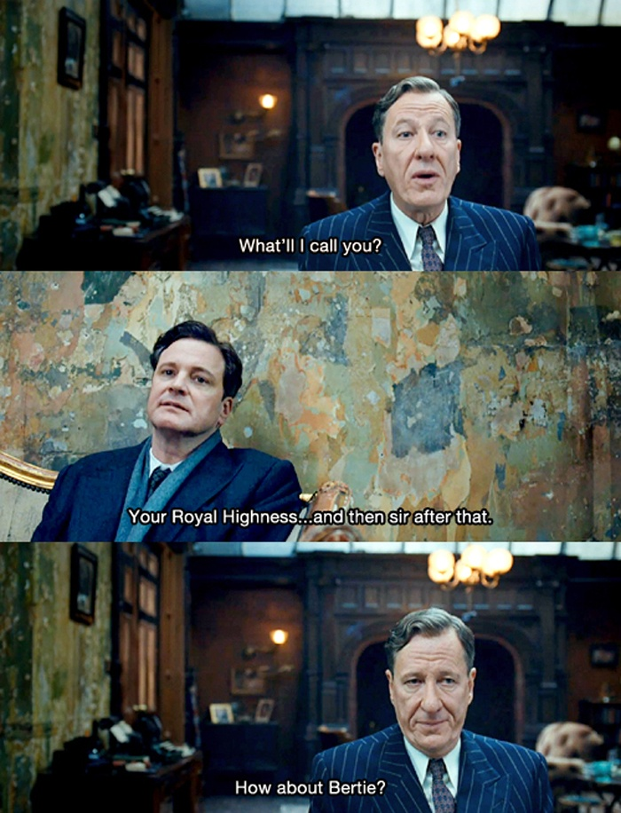 The King's Speech. Oh this movie made me smile from ear to ear...