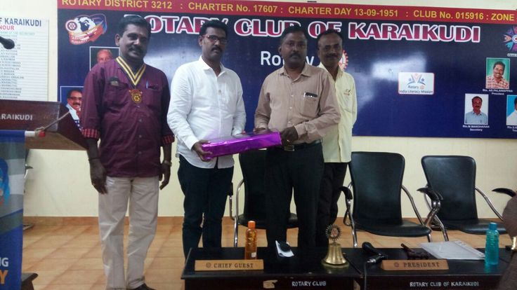 WBC Software Lab Joining with Rotary club of karaikudi, conducted seminar on Recent Trends in IT.