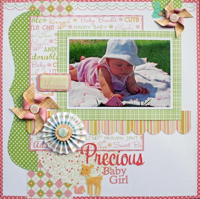 love the pinwheels!!: Scrapbook Ideas, Nana Nurseries, Baby Scrapbook, Scrapbook Layout, Baby Girls, Baby Layout, Scrapbook Baby, Shimmer Stacking, Dcwv Diaries